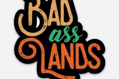 Badasslands Stickers